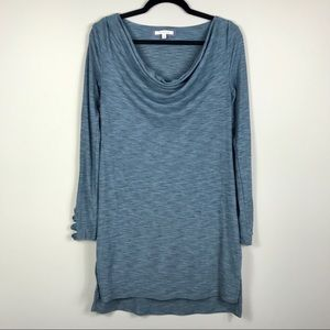 Pure+good Cowl Neck Tunic